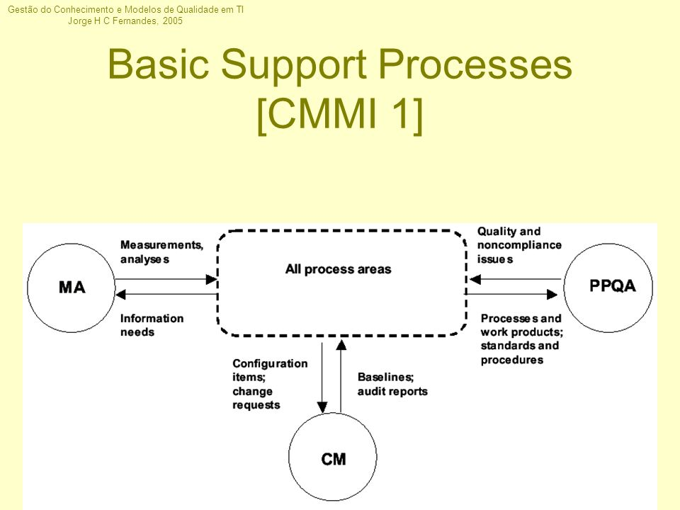 Basic Support Processes [CMMI 1]